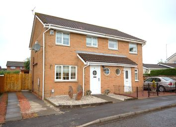 Thumbnail 3 bedroom semi-detached house for sale in Bredisholm Drive, Baillieston, Glasgow