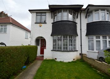 Thumbnail 3 bed semi-detached house to rent in Abbey Road, Selsdon, South Croydon