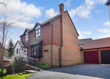 Thumbnail 4 bed detached house for sale in Carpinus Close, Walderslade Woods, Chatham, Kent