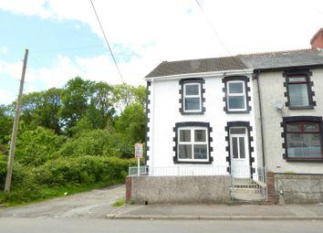 Thumbnail 3 bed end terrace house for sale in Bettws Road, Brynmenyn, Bridgend.