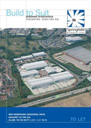 Thumbnail Light industrial to let in Springfield Business Park, Sheepcotes, Chelmsford, Essex