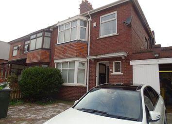 Thumbnail 3 bedroom property to rent in Auden Grove, Fenham, Newcastle Upon Tyne