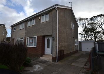 Thumbnail 3 bed semi-detached house to rent in Bridgepark, Ardrossan, North Ayrshire