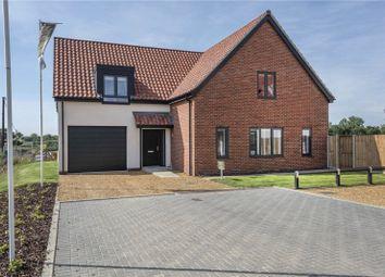 Thumbnail 4 bed detached house for sale in Plot 3 Bankside, Bell Road, Barnham Broom, Norwich