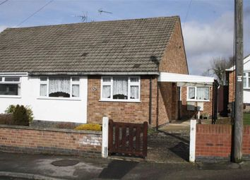 Thumbnail 2 bed semi-detached bungalow for sale in Fairestone Avenue, Glenfield, Leicester