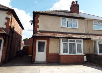 Thumbnail 3 bed semi-detached house to rent in Recreation Road, Nottingham