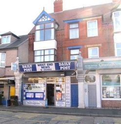 Thumbnail Retail premises for sale in Wellington Road, Rhyl