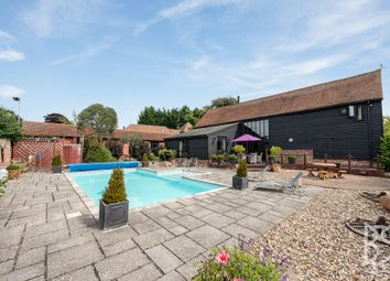 Thumbnail 5 bed detached house for sale in West Bergholt, Colchester Road, Colchester