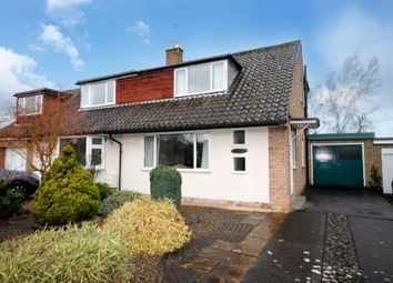Thumbnail 3 bed semi-detached bungalow for sale in Bramley Garth, Apple Tree Village, York
