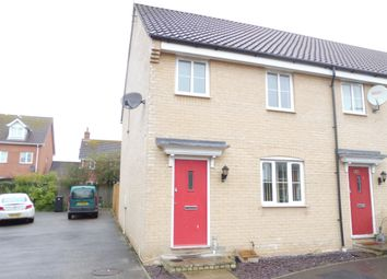 Thumbnail 3 bed end terrace house for sale in Trafalgar Way, Diss