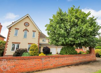 Thumbnail 4 bed detached house for sale in Mill Road, Ashby St. Mary, Norwich