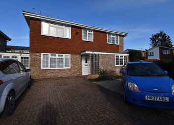 Thumbnail 4 bed detached house to rent in Wey Close, Ash, Aldershot