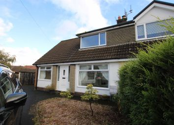 Thumbnail 3 bed semi-detached bungalow for sale in Cheviot Close, Walshaw, Bury