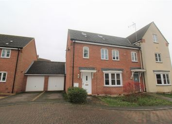 Thumbnail 4 bed semi-detached house for sale in Jackson Close, Watlington, King's Lynn