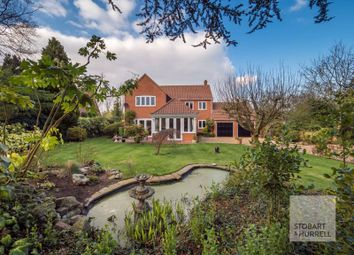 Thumbnail 5 bed detached house for sale in Bramley House, Moor Lane, Stalham Green, Norfolk