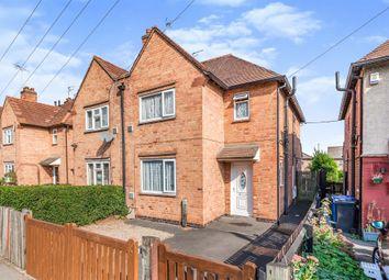 Thumbnail 3 bed semi-detached house for sale in Osmaston Park Road, Allenton, Derby