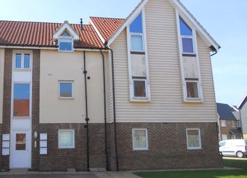 Thumbnail 2 bed flat for sale in Harrier Close, Hawkinge, Folkestone