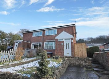 2 bed semi-detached house for sale in Clare Street, Mow Cop, Staffordshire ST7