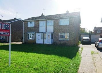 Thumbnail 3 bed semi-detached house for sale in Bozeat Way, Westwood, Peterborough, Cambridgeshire
