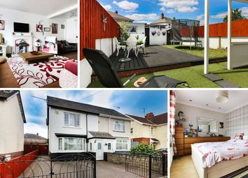 Thumbnail 2 bed semi-detached house for sale in Taymuir Road, Splott, Cardiff