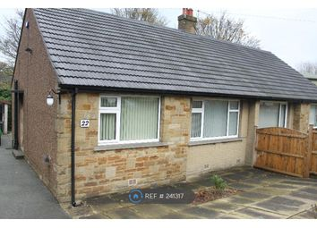 Thumbnail 1 bedroom bungalow to rent in Briarlyn Road, Huddersfield