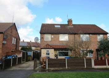 Thumbnail 4 bed semi-detached house for sale in Irlam Road, Flixton