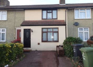 Thumbnail 2 bed terraced house to rent in Rowney Road, Dagenham