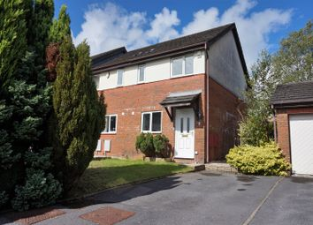 Thumbnail 2 bedroom end terrace house for sale in Bron Afon Uchaf, Penllergaer