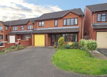 Thumbnail 4 bed detached house for sale in Martingale Close, Bromsgrove