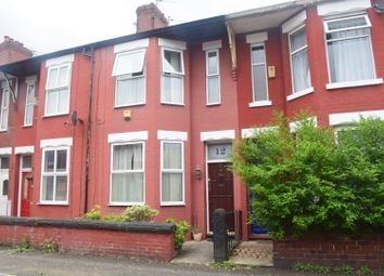 Thumbnail 3 bed property to rent in Redruth Street, Rusholme, Manchester