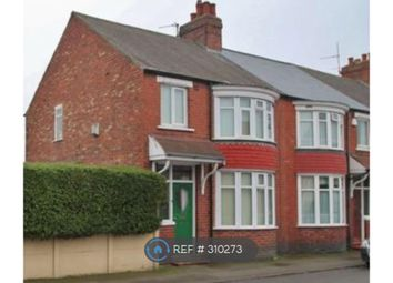 Thumbnail 3 bed end terrace house to rent in St Barnbas Road, Middlesbrough