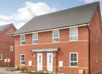 """Thumbnail 3 bedroom end terrace house for sale in """"Finchley"""" at Cranmore Circle, Broughton, Milton Keynes"""