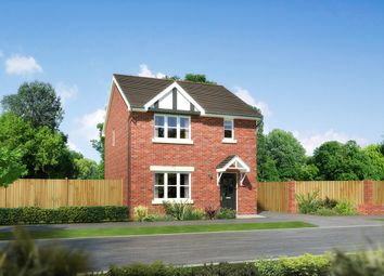"Thumbnail 3 bedroom detached house for sale in ""Castlevale"" at Church Road, Warton, Preston"