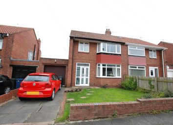 Thumbnail 3 bed semi-detached house for sale in Dolphin Villas, Hazlerigg, Newcastle Upon Tyne