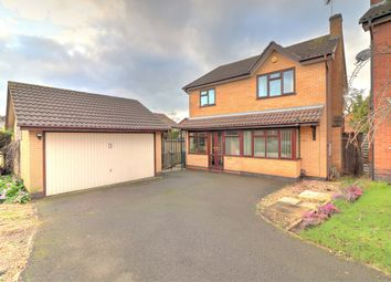 Thumbnail 4 bed detached house for sale in Granary Close, Glenfield, 8