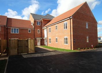 Thumbnail 2 bedroom flat for sale in Nmulberry Grove, North Walsham, Norfolk