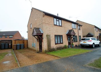 Thumbnail 2 bed semi-detached house for sale in Hall Farm Road, Melton, Woodbridge