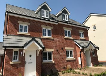 Thumbnail 3 bedroom town house for sale in Cloakham Drive, Axminster