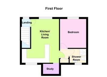 Thumbnail 1 bedroom flat for sale in Plot 2, Peach Street, Heanor
