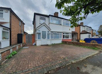 3 bed semi-detached house for sale in Fairholme Crescent, Hayes, Middlesex UB4