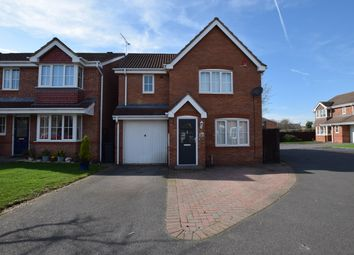 Thumbnail 3 bed detached house to rent in Whitehaven Grove, Chellaston, Derby