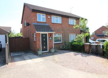 Thumbnail 3 bed semi-detached house for sale in Markfield Close, Luton
