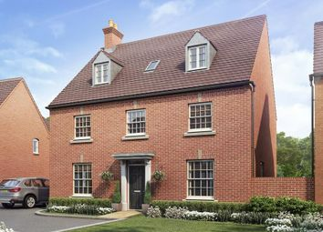 "Thumbnail 5 bed detached house for sale in ""Buckingham"" at Juliet Drive, Brackley"
