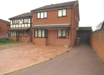 3 bed detached house for sale in Lakeside Close, Willenhall WV13