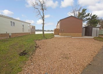 Thumbnail 2 bed lodge for sale in East Bank, Tallington, Stamford
