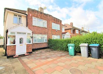 Thumbnail 3 bed semi-detached house for sale in Branksome Way, Kenton