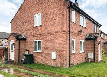 Thumbnail 1 bedroom semi-detached house for sale in Hempbridge Road, Selby