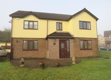 Thumbnail Detached house for sale in Kingsacre, Llantwit Fardre, Pontypridd