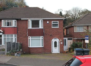 Thumbnail 3 bed semi-detached house for sale in The Croftway, Handsworth Wood, Birmingham