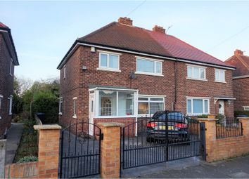 Thumbnail 3 bed semi-detached house for sale in Dilston Drive, Newcastle Upon Tyne